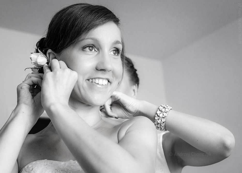 Ania - przygotowania do ślubu