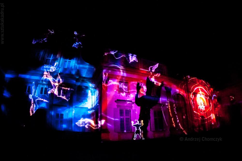 II Królewski Festiwal Światła w Wilanowie