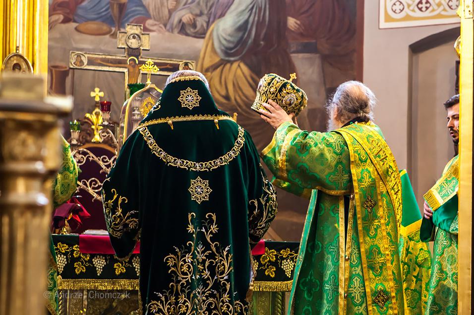 Niedziela Palmowa w Prawosłwnej Katedrze Metropolitalnej w Wars